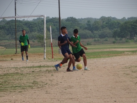 INTER HOUSE FOOT BALL SR.DIV