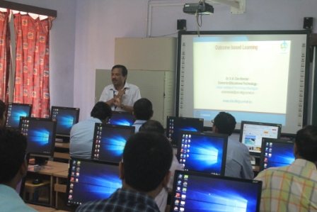 TEACHER'S WORKSHOP ON OBE BY IIT KGP